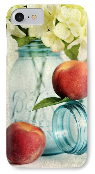 Peachy Phone Case by Darren Fisher