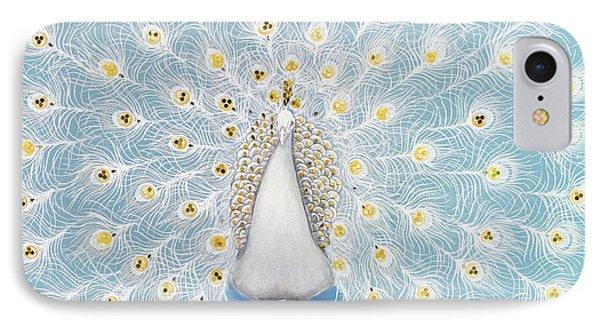 Peacock Pattern On The Wall Phone Case by Setsiri Silapasuwanchai