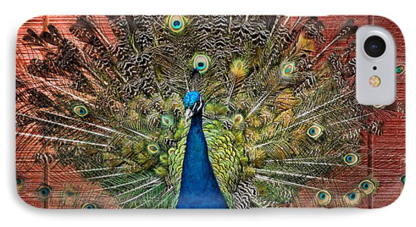 Peacock Tails IPhone Case