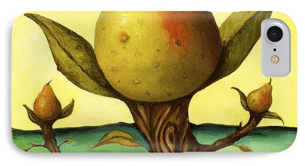 Pear Trees 2 Phone Case by Leah Saulnier The Painting Maniac