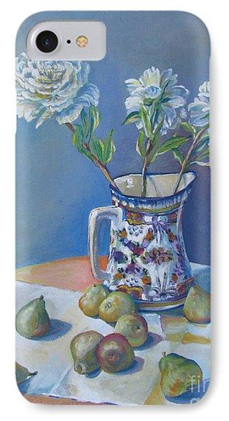 pears and Talavera table pitcher Phone Case by Vanessa Hadady BFA MA