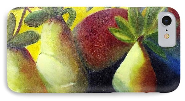 Pears In Sunshine IPhone Case by Margaret Harmon