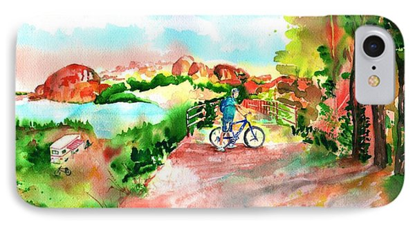 Peavine Trail Prescott Arizona Phone Case by Sharon Mick