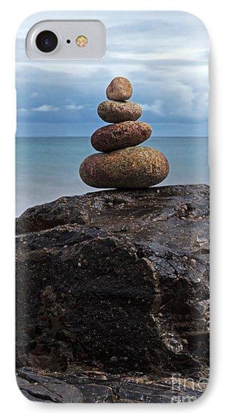 Pebble Sculpture Phone Case by Richard Thomas