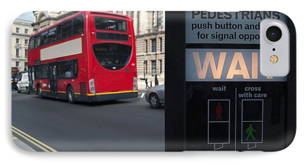 Pedestrian Traffic Controls On The Side IPhone Case