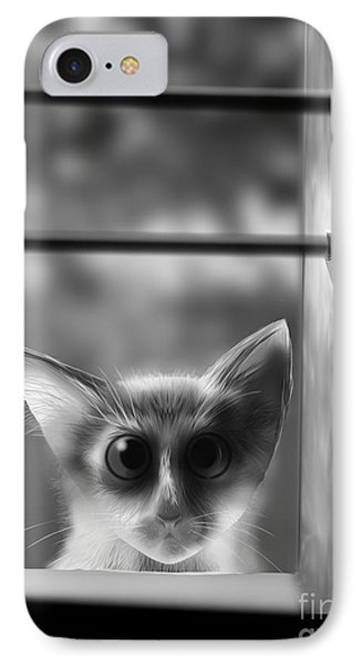 Peeping Tom IPhone Case
