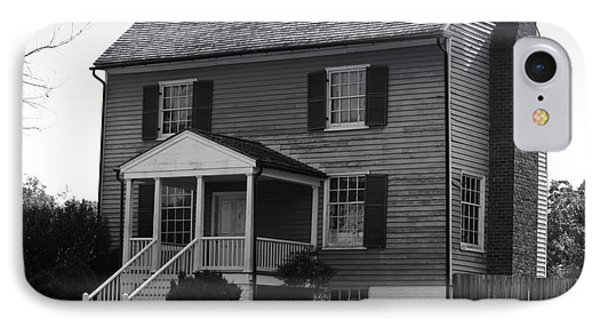 Peers House Appomattox County Court House Virginia Phone Case by Teresa Mucha