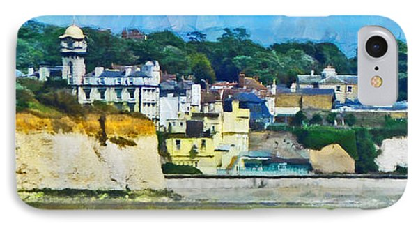 IPhone Case featuring the digital art Pegwell Bay by Steve Taylor