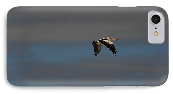 IPhone Case featuring the photograph Pelican In Flight 4 by Blair Stuart