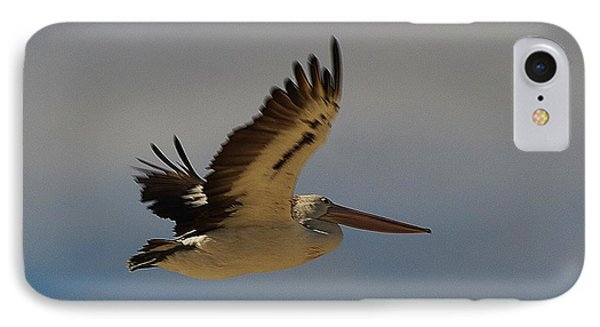 IPhone Case featuring the photograph Pelican In Flight 5 by Blair Stuart