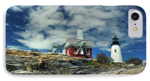 Pemaquid Lighthouse Phone Case by Alana Ranney