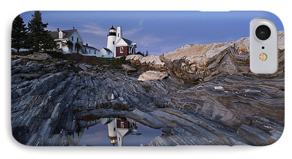 Pemaquid Point Lighthouse - D002139 Phone Case by Daniel Dempster