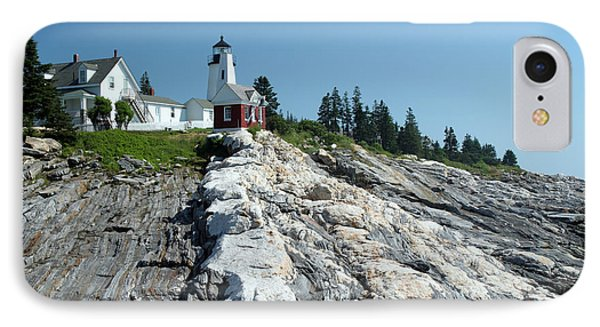 Pemaquid Point Lighthouse Phone Case by Ted Kinsman
