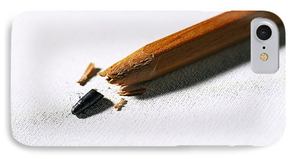 Pencil IPhone Case by Kevin Curtis