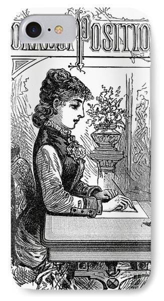 Penmanship Manual, C1880 Phone Case by Granger
