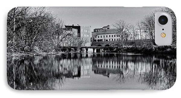 Penn Yan Bridges In Black And White IPhone Case