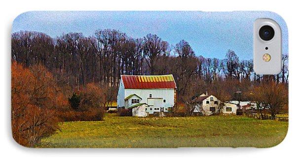 Pennsylvaina Farm Scene Phone Case by Bill Cannon