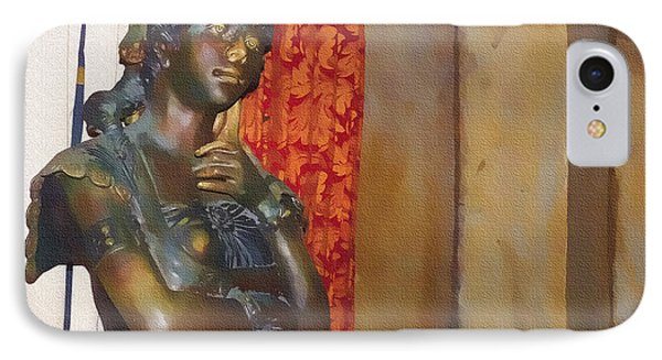 Pensive Statue IPhone Case