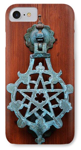 Pentagram Knocker Phone Case by Fabrizio Troiani