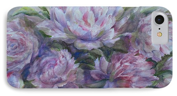 Peonies IPhone Case by Bonnie Goedecke