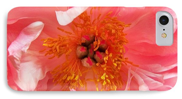Peony IPhone Case by Peter Mooyman