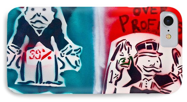 People Over Profits Phone Case by Tony B Conscious