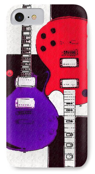 Perfect Fit -   Les Paul Phone Case by Bill Cannon