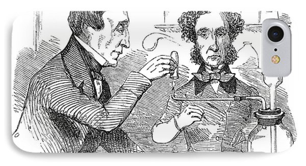 Performing The Marsh Test, 1856 Phone Case by Science Source