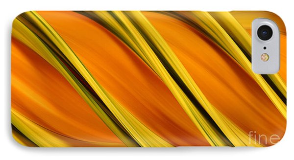 Peripheral Streak Image Of Squash Phone Case by Ted Kinsman