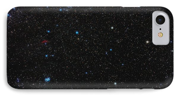 Perseus Constellation Phone Case by Eckhard Slawik