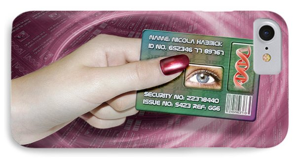 Personal Id Card Phone Case by Victor Habbick Visions