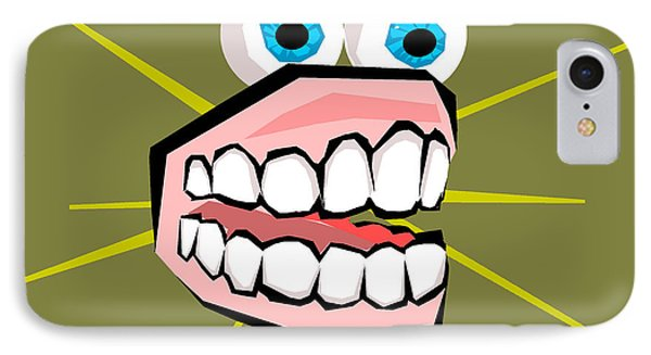 Personality Teeth Phone Case by Jera Sky
