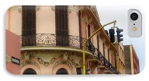 Peruvian Streets Phone Case by Karen Wiles