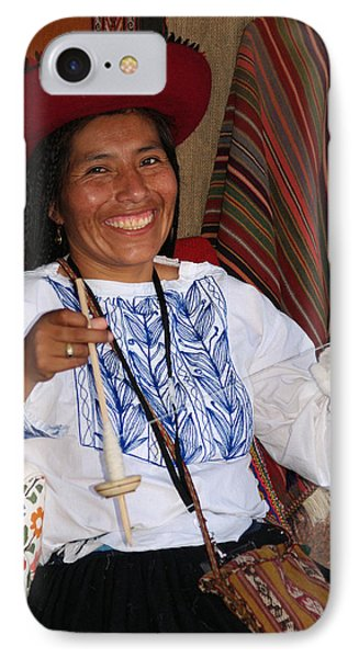Peruvian Weaver IPhone Case