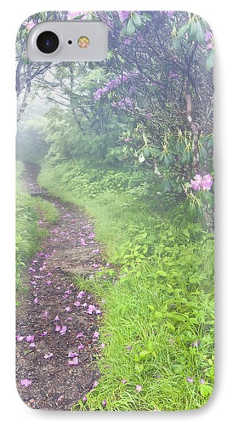 Petaled Path Phone Case by Rob Travis