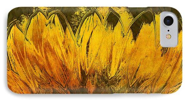 Petales De Soleil - A43t02b Phone Case by Variance Collections
