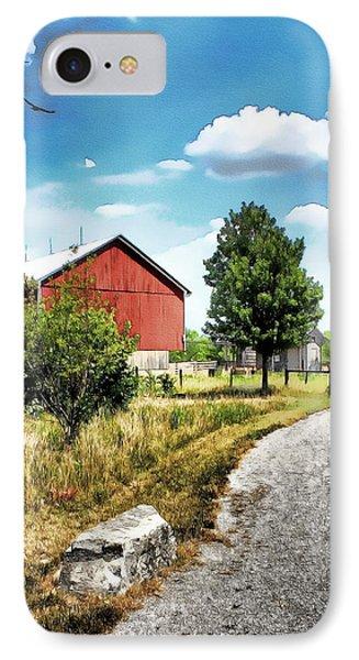 Peter Stuckey Farm Phone Case by Tom Schmidt