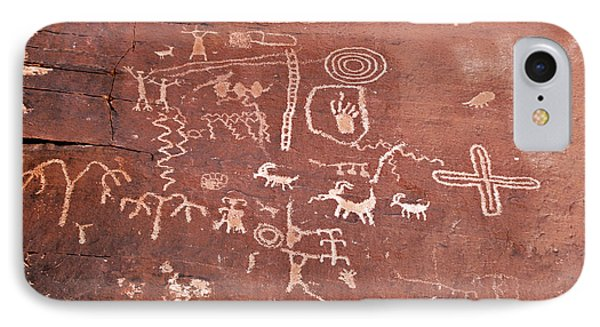Petroglyph Canyon - Valley Of Fire Phone Case by Christine Till