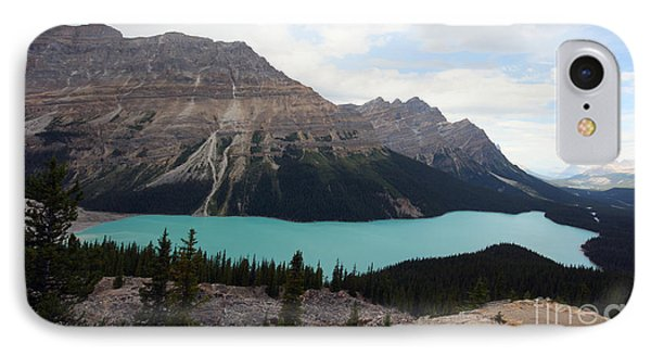 IPhone Case featuring the photograph Peyto by Milena Boeva