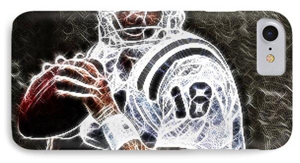 Peyton Manning 18 Phone Case by Paul Ward