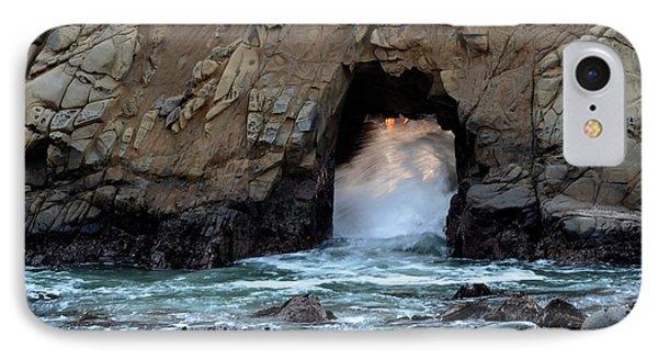 Pfeiffer Rock Big Sur 2 Phone Case by Bob Christopher