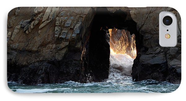 Pfeiffer Rock Big Sur Phone Case by Bob Christopher