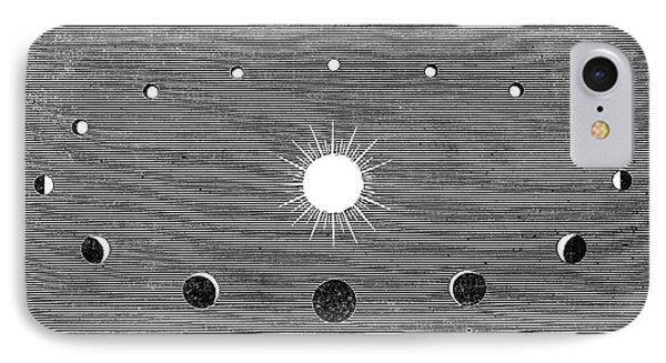 Phases Of Venus, 19th-century Diagram Phone Case by