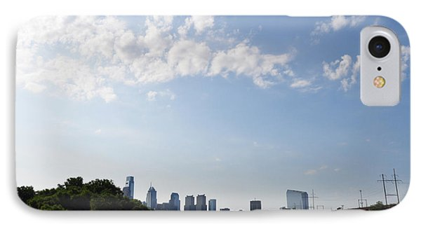 Philadelphia From Kelly Drive Phone Case by Bill Cannon