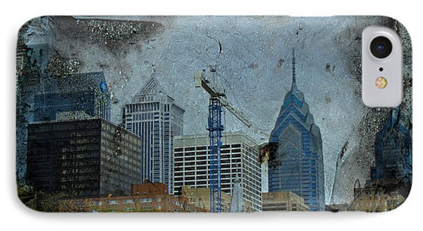 Philadelphia Skyline Phone Case by Mother Nature