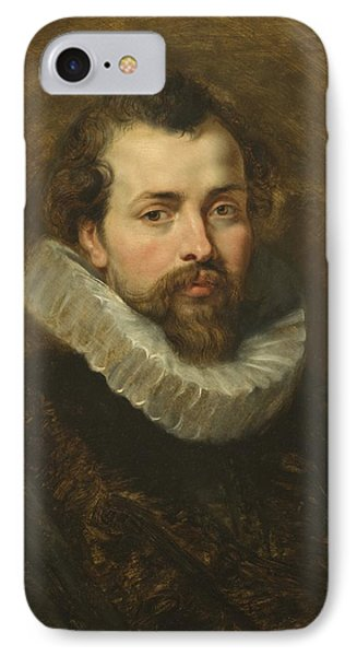 Philippe Rubens - The Artist's Brother Phone Case by Peter Paul Rubens