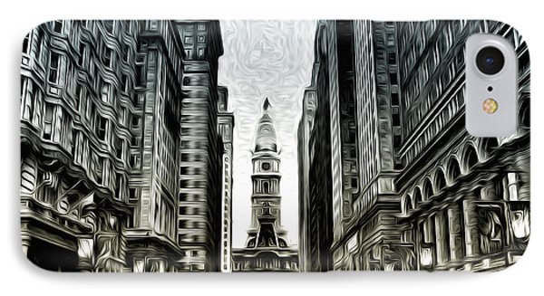 Philly - Broad Street Phone Case by Bill Cannon