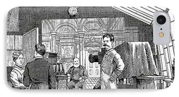 Photography Studio, 1876 Phone Case by Granger