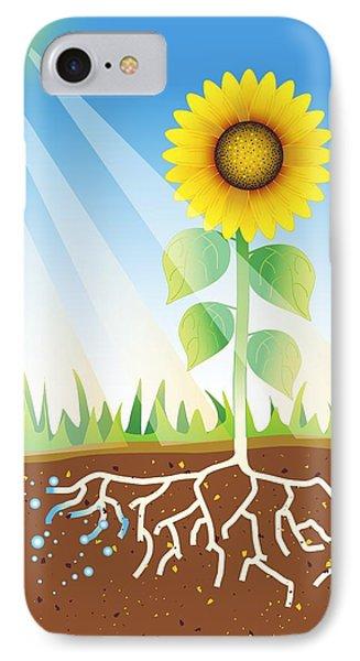Photosynthesis, Artwork Phone Case by David Nicholls