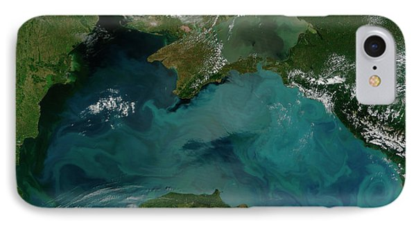 Phytoplankton Bloom In The Black Sea Phone Case by Stocktrek Images